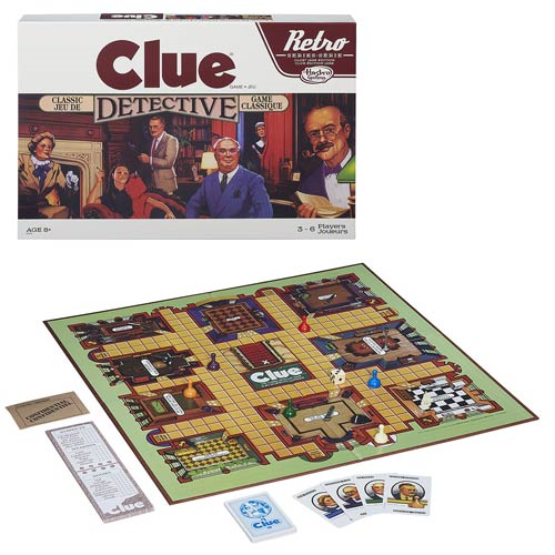 Clue Retro Board Game