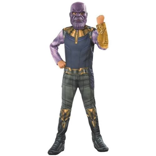 Avengers: Infinity War Thanos Costume Top with Mask