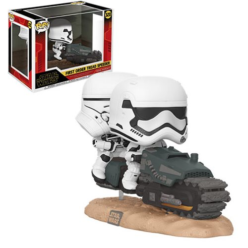 Star Wars: The Rise of Skywalker First Order Tread Speeder Pop! Vinyl Movie Moment