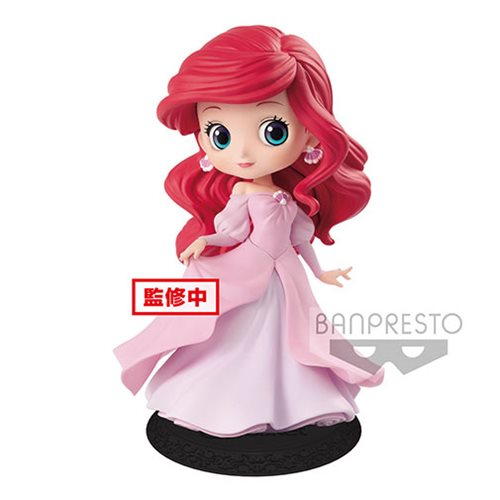 The Little Mermaid Princess Ariel Pink Dress Q Posket Statue