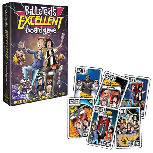 Bill and Ted`s Excellent Adventure Board Game