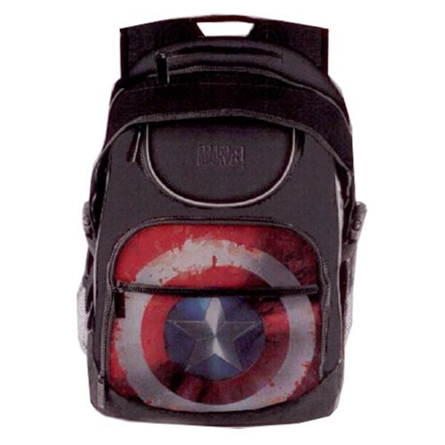 Marvel Comics Civil War Captain America Shield Student Backpack
