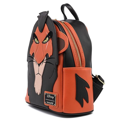 Lion King Scar Cosplay Mini-Backpack