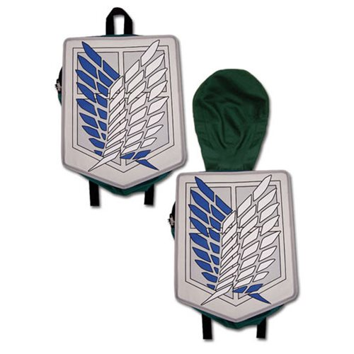 Attack on Titan Scout Legion Hooded Backpack