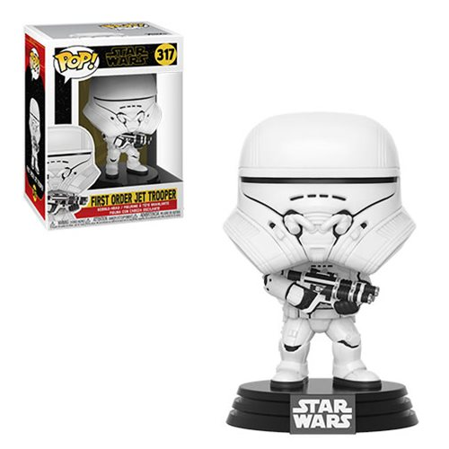 Star Wars: The Rise of Skywalker First Order Jet Trooper Pop! Vinyl Figure
