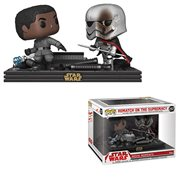 Star Wars: The Last Jedi Finn and Phasma Pop! Vinyl Figure Movie Moments