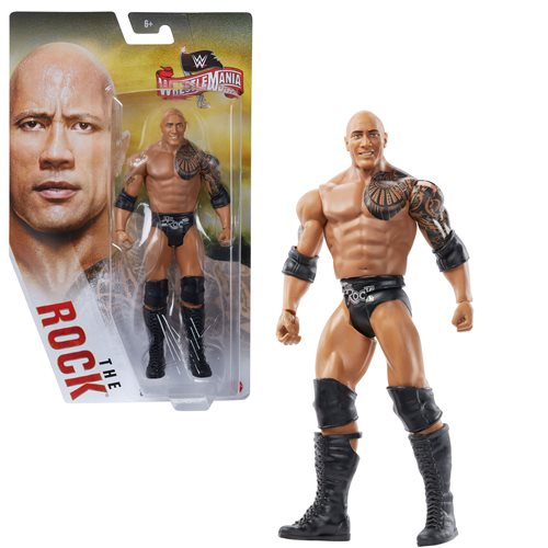 WWE WrestleMania Basic The Rock Action Figure
