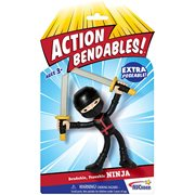 Action Bendables Ninja 4-Inch Bendable Action Figure