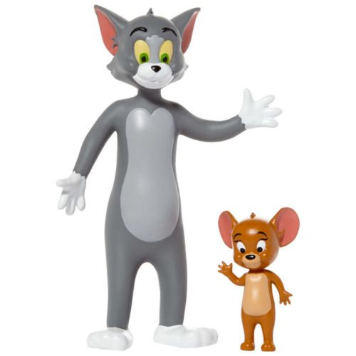 Hanna-Barbera Tom and Jerry Bendable Action Figures