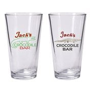 American Gods Jack's Crocodile Bar Pint Glass Set