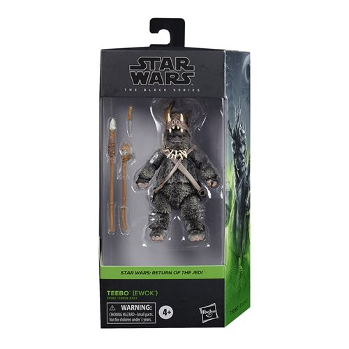 Star Wars The Black Series Teebo the Ewok Action Figure
