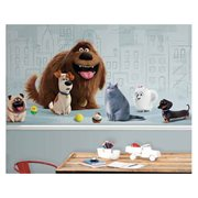 The Secret Life of Pets XL Chair Rail Prepasted Mural