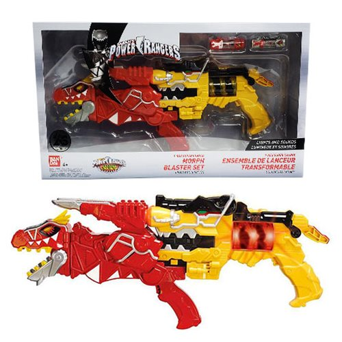 Power Rangers Dino Super-Charge Morph Blaster Set Replica