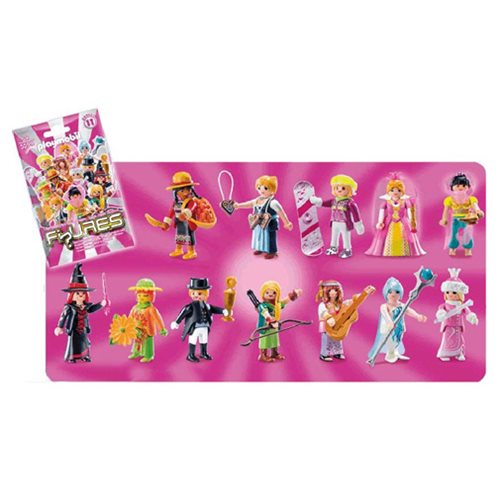 Playmobil 9147 Fi?ures Mystery Action Figures Girls Series 11 Case