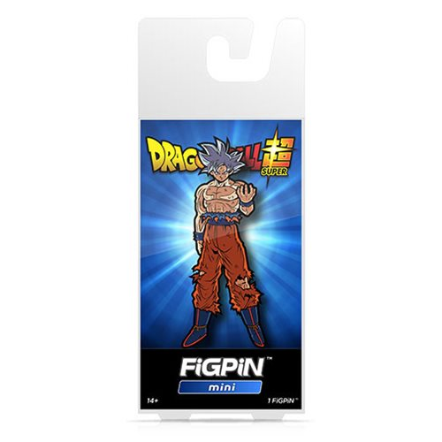 Dragon Ball Super Ultra Instinct Goku FiGPiN Mini