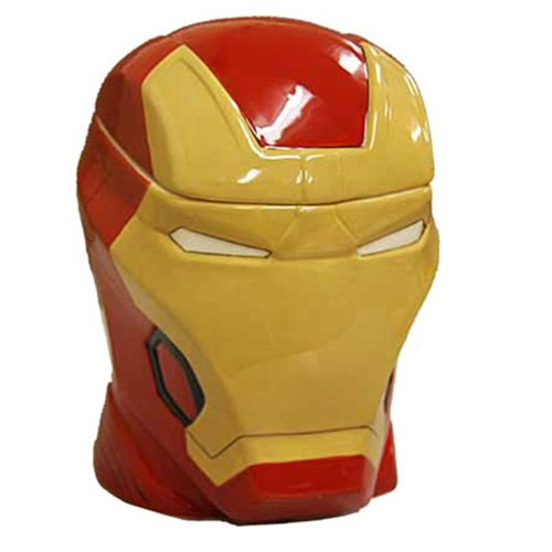 Iron Man Head Molded Cookie Jar