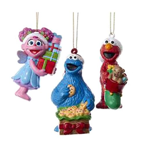 Sesame Street Presents Blow Mold Ornament Case
