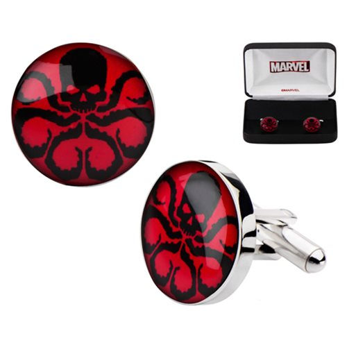 Agents of SHIELD Hydra Logo Stainless Steel Cufflinks