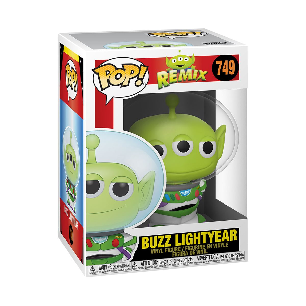 Funko Pop Vinyl Alien Remix Buzz Lightyear Pop Vinyl Figure