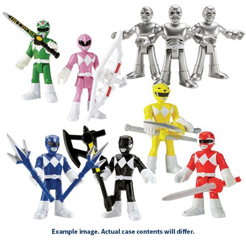 Mighty Morphin Power Rangers Imaginext Action Figure Case
