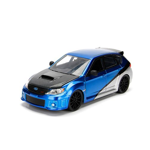 Fast and the Furious Brian's Subaru Impreza WRX STI 1:24 Scale Die-Cast Metal Vehicle