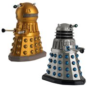 Doctor Who Collection Time Lord Victorious Dalek Drone and Emperor Figurine Set #1