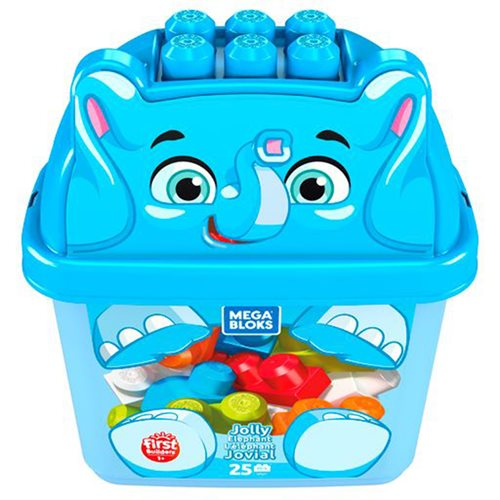 Mega Bloks Jolly Elephant Animal Bucket