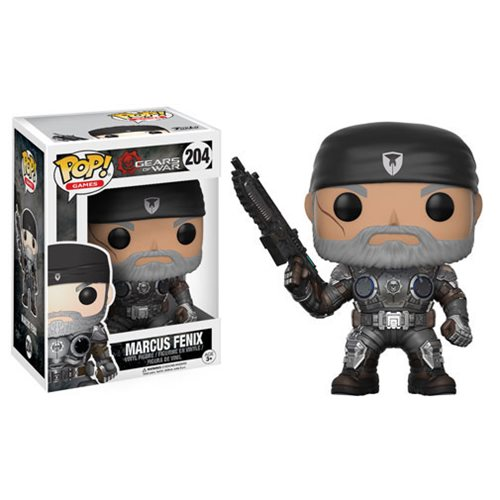 Gears of War Marcus Fenix Old Man Pop! Vinyl Figure