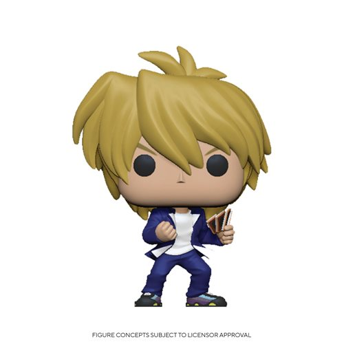 Yu-Gi-Oh Joey Wheeler Pop! Vinyl Figure, Not Mint