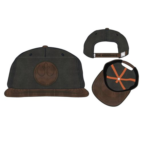 Star Wars: The Last Jedi Rebel Leather Patch Snapback Hat