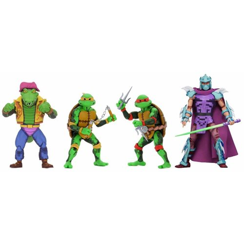 TMNT Turtles in Time Series 2 7-Inch Action Figure Set