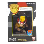 2000 AD Judge Dredd Cursed Earth Version Titans Vinyl Figure - PX