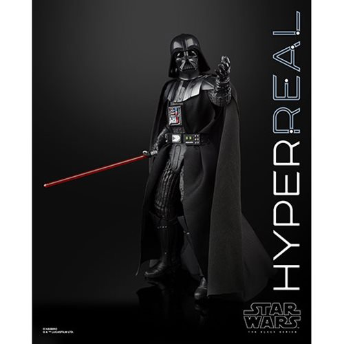 Star Wars The Black Series Darth Vader Hyperreal 8-Inch Action Figure