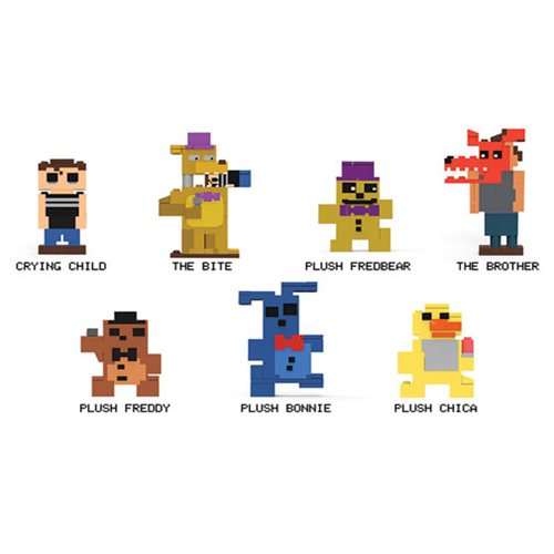 Five Nights at Freddy's 8-Bit Mini-Figures Random 6-Pack