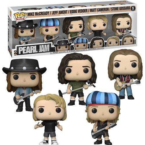 Pearl Jam Pop! Vinyl Figure 5-Pack