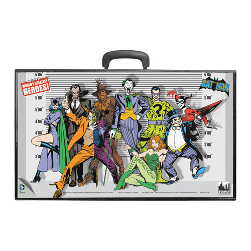 Batman Retro Villains Retro Action Figures Carry Case