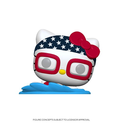 Hello Kitty Team USA Swimming Pop! Vinyl Figure