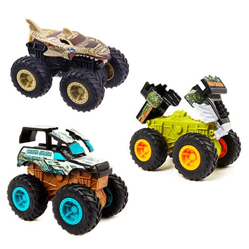 Hot Wheels Monster Trucks 1:43 Scale Bash Ups Mix 3 Case