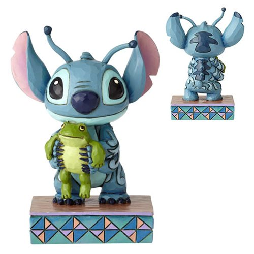Disney Traditions Lilo and Stitch Stitch Personality Pose Strange Lifeforms Statue by Jim Shore