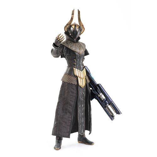 Destiny 2 Warlock Philomath Golden Trace Shader 1:6 Scale Action Figure
