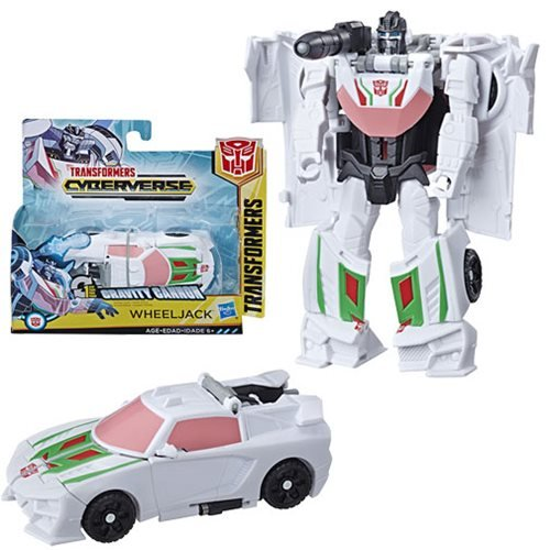 Transformers Cyberverse Action Attackers 1-Step Changer Wheeljack