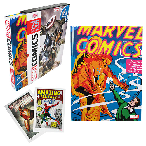 marvel comics 75 years of cover art