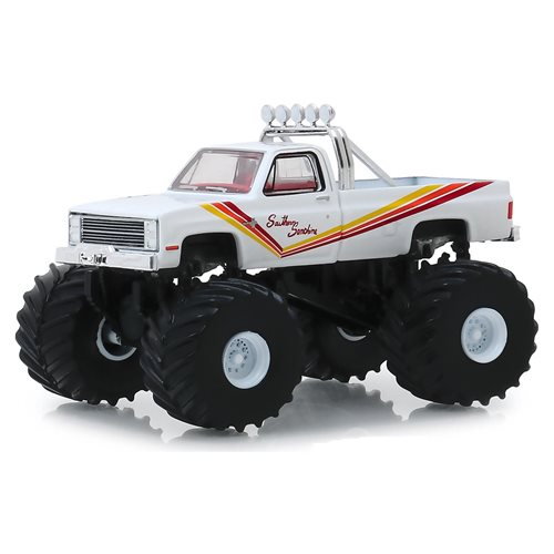 Kings of Crunch Series 5 Southern Sunshine 1981 Chevrolet K20 Silverado 1:64 Scale Monster Truck