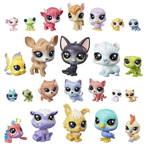 Littlest Pet Shop LPS Lucky Dozen Wave 1 Set