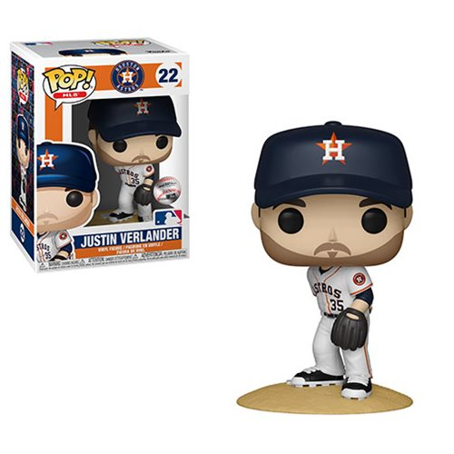 MLB Houston Astros Justin Verlander Pop! Vinyl Figure