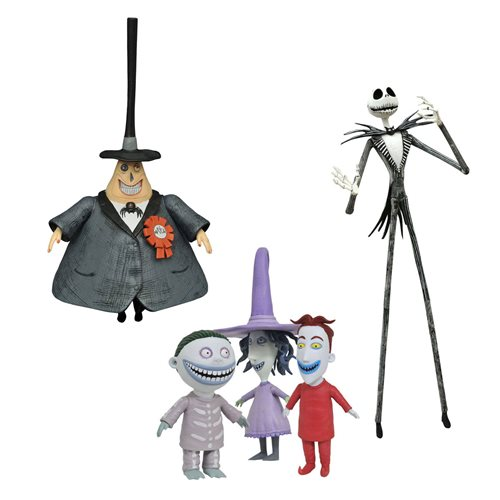 Nightmare Before Christmas Best of Series 1 Figure Set