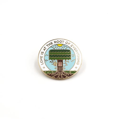 Love is the Root of Everything Enamel Pin