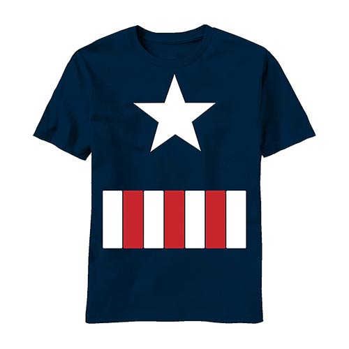 Captain America Juvy Costume T-Shirt