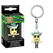 Rick and Morty Mr. Poopy Butthole Pocket Pop! Key Chain