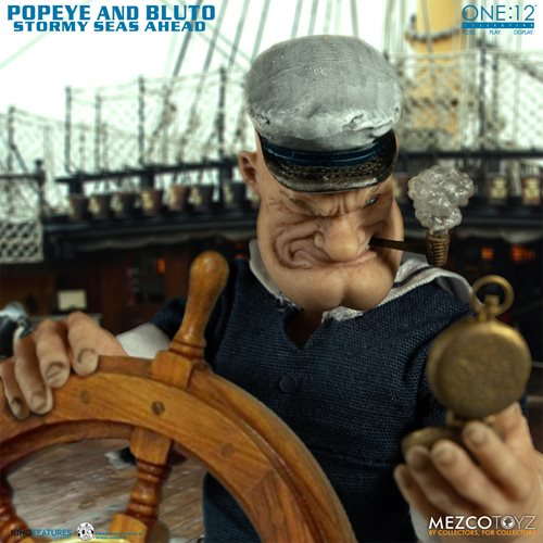 Popeye & Bluto: Stormy Seas Ahead One:12 Collective Deluxe Action Figures Box Set